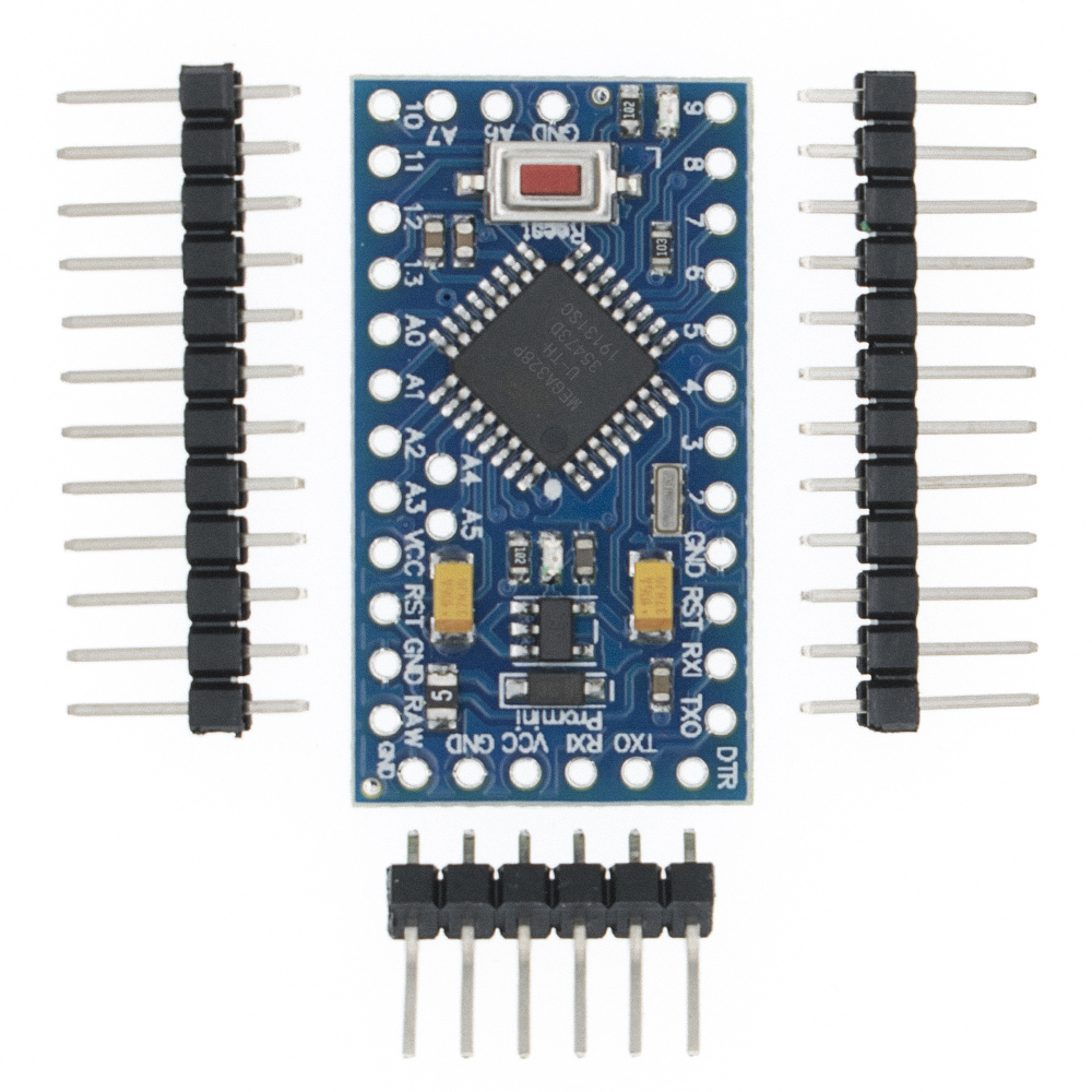 TENSTAR ROBOT 20pcs Pro Mini 328 Mini 3.3V 8M ATMEGA328 3.3V/8MHz 5V/16MHz for arduino-in Integrated Circuits from Electronic Components & Supplies