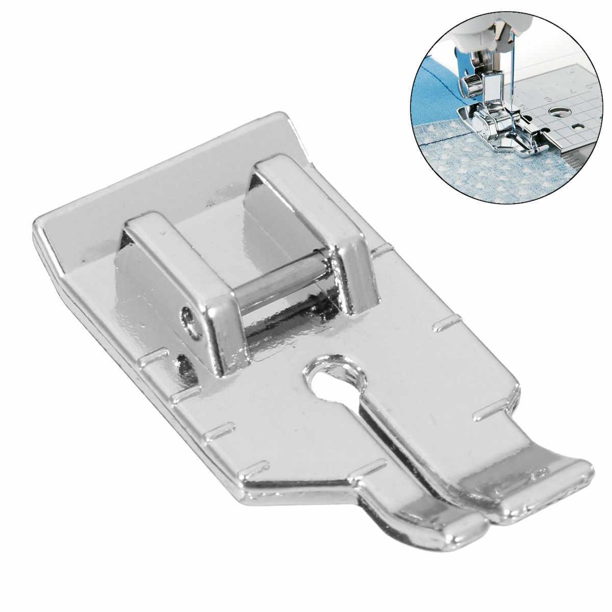 Máquina de coser doméstica piezas de prensatelas Patchwork acolchado pie Invisibles cremallera pie prensa pies para Brother máquina de coser