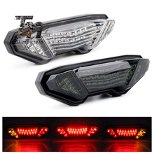 LED Tail Light Turn Signal For YAMAHA MT-09 FZ-09 14-16, FJ-09 MT09 Tracer 900/GT MT10 FZ10 15-19 Motorcycle Integrated Lamp mt10 mt09 2017 accessories motorcycle brake turn signal tail light integrated led for yamaha mt 09 mt 10 fz 09 tracer 2014 2016