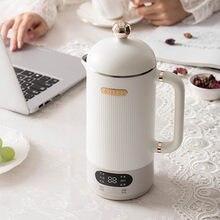 Fabricante de sojamelk intelligente liquidificador elétrico espremedor ontbijt suplemento máquina filtro-grátis soja melk waterkoker 350ml