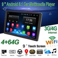 "9 ""Android 8.1 Car Multimedia Player Android Mobil Stereo Radio GPS Bt WIFI/3G/4G audio Mirrorlink MP5 Pemain dengan Kamera Belakang(China)"