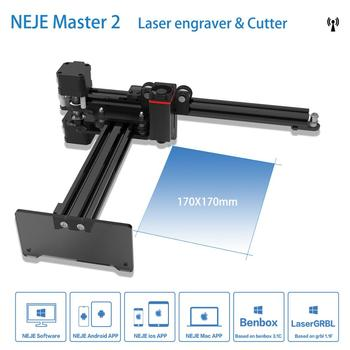 цена на NEJE master 2 7W Laser CNC Laser Engraver For Metal Engraving Carving Machine Laser Cutting Engraving Machine