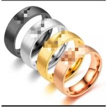 2021 aço inoxidável oco gancho anel net vermelho novo coreano jóias harajuku vento frio anel de casal
