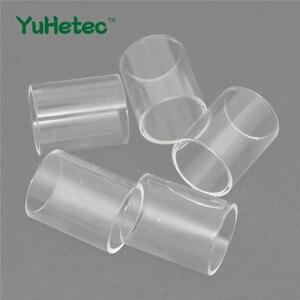 5 шт. YUHETEC сменная стеклянная трубка для Eleaf lemo 2 3,8 мл/lemo 3 4 мл/lemo 3 Drop RTA 2,7 мл бак