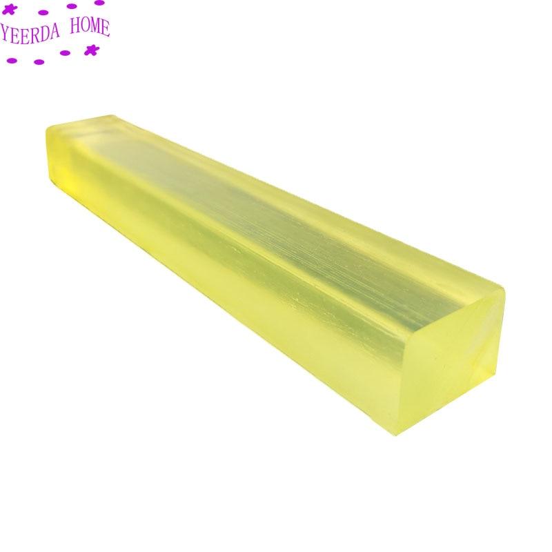 แท่งโพลียูรีเทน แท่งยูรีเทนสี่เหลี่ยม ยาว 500 มม. Polyurethane