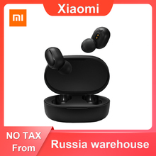 In Stock Xiaomi Redmi Airdots TWS Bluetooth 5.0 Wireless Earphone Handsfree Earbuds Voice Control Noise Reduction Tap Control