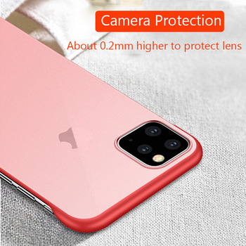 Frameless Slim Matte Hard Back Cases for iPhone 11/11 Pro/11 Pro Max 1