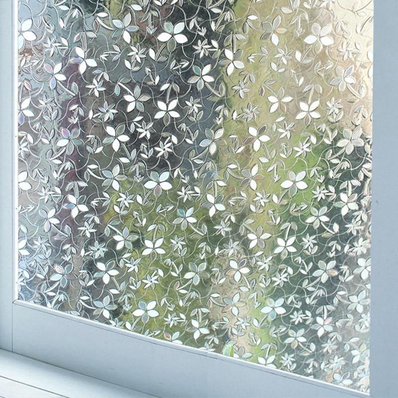 Sticker Window-Glass-Film No-Glue Blocking Sun-Heat Self-Adhesive Home Anti-Uv Bedroom