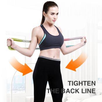 Spring Sports Hoops Waist Trainer Hoola Hoop Home Portable Fitness Gym Workout Equipments Slimming Lose Weight Resistance Bands 4