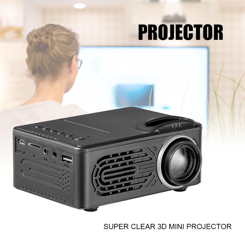 1080 p built in hd puro portatil bolso projetor suporte estereo alto falante para escritorio em
