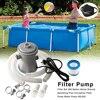 Pool Filter Pump Electric Swimming Pool Filter Pump Durable Reusable Swimm Pool Filter Water Purifier EU UK US Filter Pump Hoses