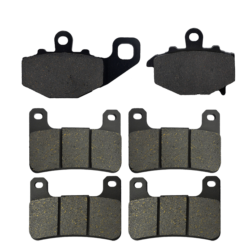 Brake-Pads Z1000SX Front Kawasaki ZX10R Motorcycle And Rear for 08-10 11-13 title=