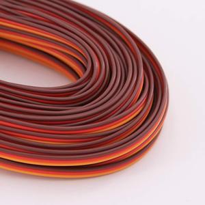 5 метров 16 футов 26AWG/22AWG JR сервопривод futaba Удлинительный кабель провод 30/60 шнур Удлинитель проводки для RC DIY аксессуары