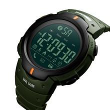 SKMEI Fashion Smart Watch Men Calorie Pedometer Bluetooth Watches Remote Camera Waterproof Wristwatches Relogio Masculino 1301
