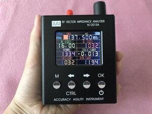 N1201SA антенный анализатор, SWR измеритель стоячих волн, тестер импеданса инструмента, 140 м ~ 2,7 ГГц
