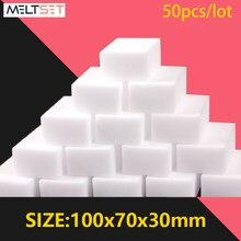 50 pçs/lote Magia Esponja Eraser 100x70x30 milímetros Melamina Esponja de Limpeza Da Cozinha Casa de Banho Esponjas de Limpeza Ferramentas de Limpeza Doméstica