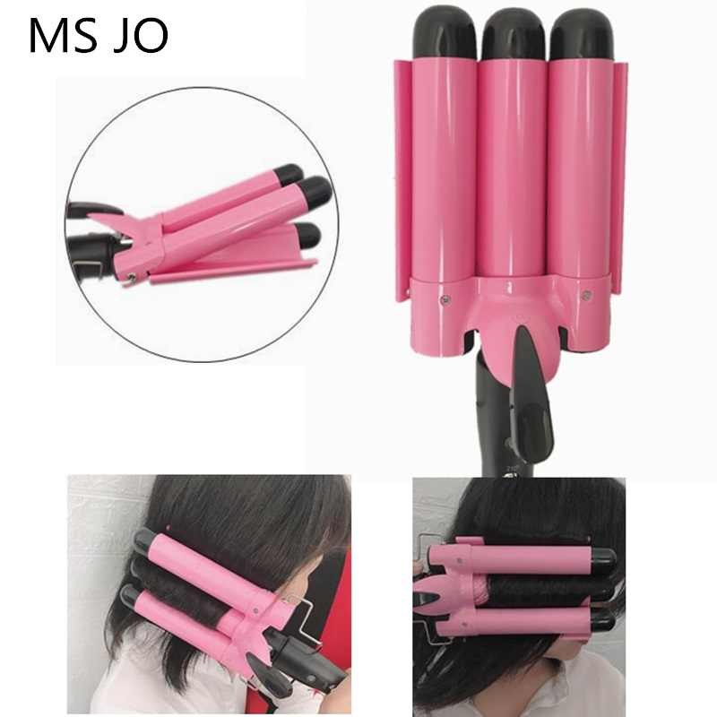 Professional Hair Curling IronเซรามิคBarrel Hair Curler Irons Hair Wave Waverเครื่องมือจัดแต่งทรงผมHair Styler Wand