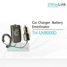 Eliminador de bateria original, carregador de carro 12 24v para tyt TH UV8000D, banda dupla, rádio de duas vias 10w walikie talkie tyt rádio