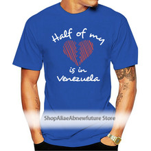 Half of my heart is in Venezuela Women T-Shirt