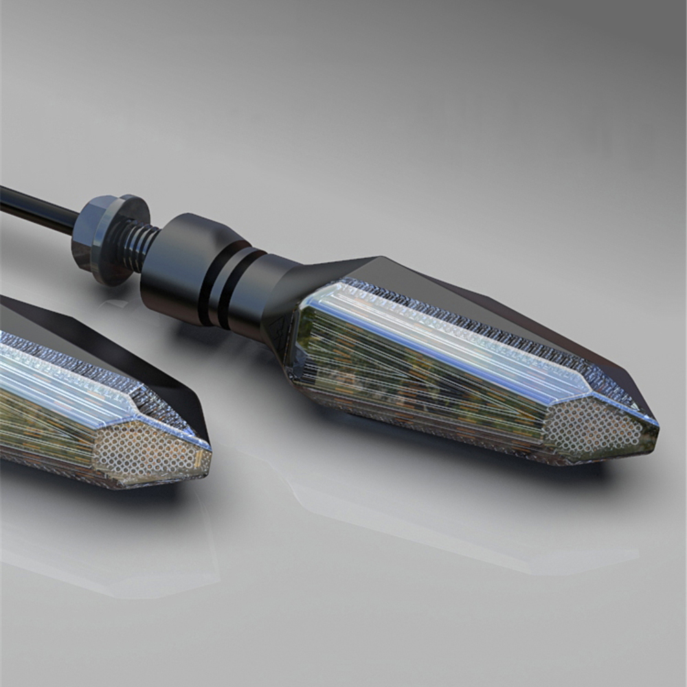 lowest price Spirit Beast Motorcycle Turn Signal Lights Amber Lamp LED Indicators 12V Blinkers Universal for KAWASAKI for KTM Pit Bike 2PC