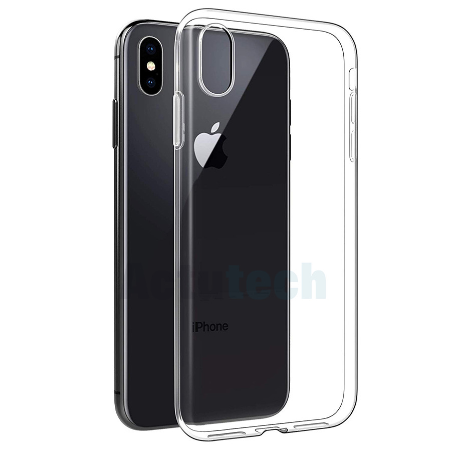 Transparent TPU Phone Case for iPhone X XS XRXS Max Clear Soft Silicone Cases for iPhone11 Pro MAX Protective Cover Coque in Fitted Cases from Cellphones Telecommunications
