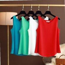 2020 Fashion New Brand Women's blouse Summer sleeveless Chif