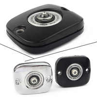 Front Brake Master Cylinder Cover For Harley XL Touring Softail Dyna 1996-2017 Black/Chrome Motorcycle Accessories