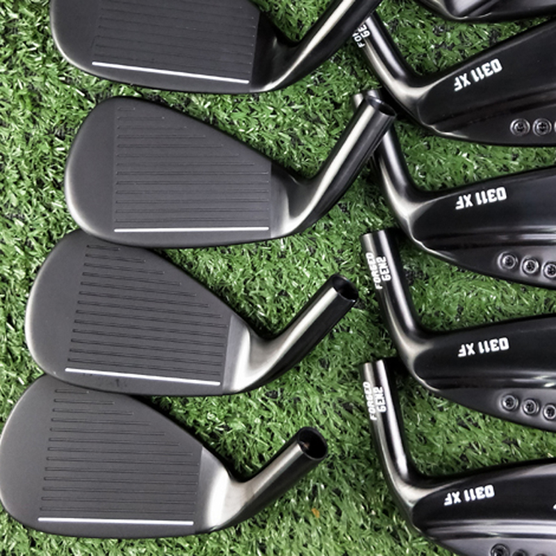 NEW Golf Irons 0311xf Gen2 Black Golf Clubs Set 3-9WGLS 11piece Gen2 0311xf Golf Iron Steel Shaft Or Graphite Golf Shaft