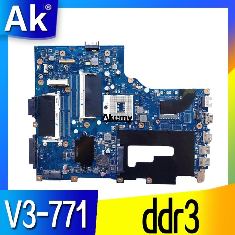 Для acer Aspire V3-771 V3-771G материнская плата для ноутбуков ПК NB. RYR11.001 NBRYR11001 VA70/VG70 E1-771 69N0VM11A01 PGA989 ddr3
