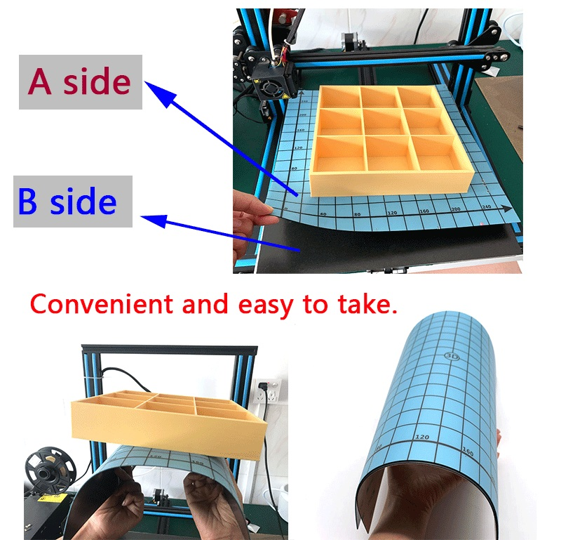 Sunpion magnético impressão cama fita quadrado 300*300mm-310*310mm