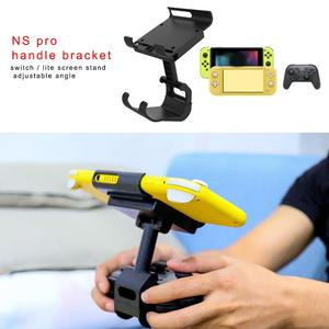 Image 3 - Adjustable Handle Clamp Mount Holder for Nintend Switch/Lite Controller Handle Clip Gamepad Bracket For Switch Accessories