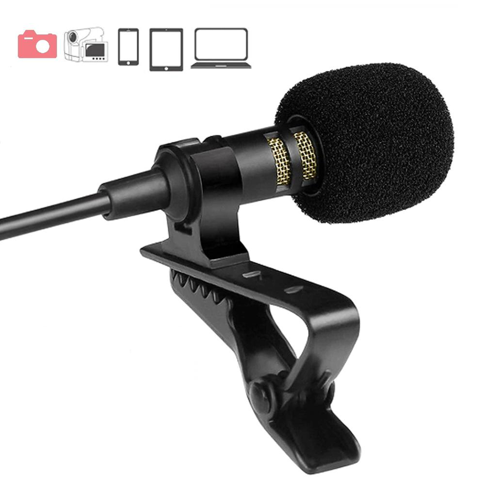 3,5 мм студия Речь микрофон мини Портативный микрофон Тип-c адаптер конденсаторный клип петличный микрофон для настольных ПК ноутбук