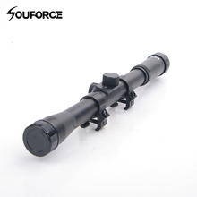 1pc 4x20 Air Gun Optics Scope 11 mm Mount for 22 Caliber Airsoft Guns for Huntin