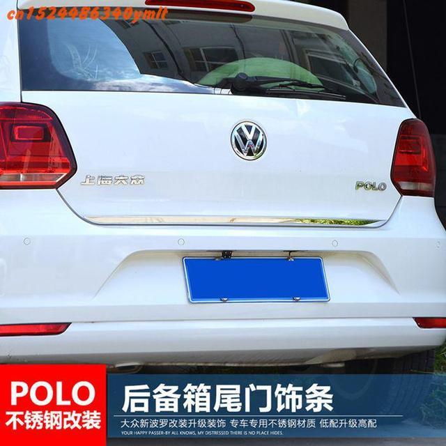 Tylna pokrywa do klamki ze stali nierdzewnej tylna klapa tapicerka Bezel odlewnictwo stylizacja do Volkswagen Golf 6 Golf 7 Polo 2011-2018