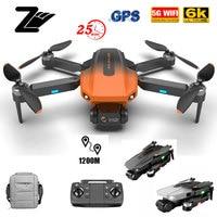 2021 nuovo RG101 GPS Drone 6K videocamera HD professionale 5G WIFI FPV Dron fotografia aerea motore Brushless quadricottero pieghevole 1200M