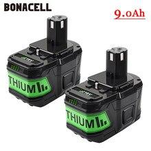 6000 mah 18 v リチウムイオン二次電池リョービ 1 コードレス電動工具 BPL1820 P108 P109 P106 P105 P104 P103 RB18L50 RB18L40