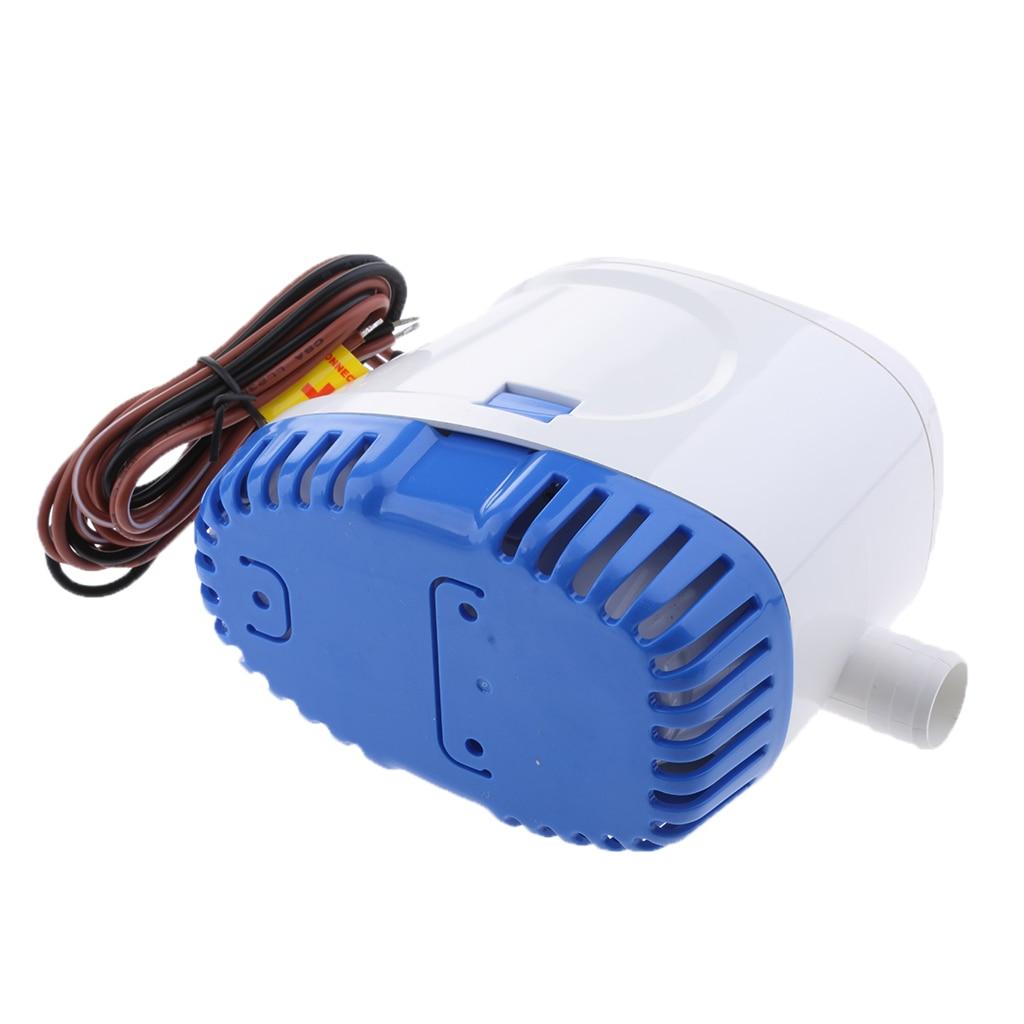 Pompe à eau Submersible automatique de cale de Yacht de 24V 600GPH automatique avec le commutateur de flotteur - 3