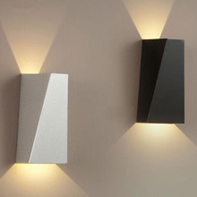 Modern Minimalist Double Geometry 10W LED Wall Lamp Bedside Lamp Indoor Wall Hanging Lamp AC 85-265V