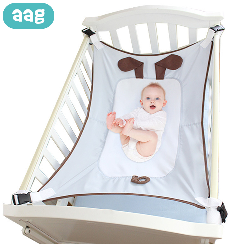 AAG Infant Protable Safety Baby Hammock Chair Hanging Newborn Kid Sleeping Hammocks Bed Swing Toy Bouncer Baby Hammock Cot