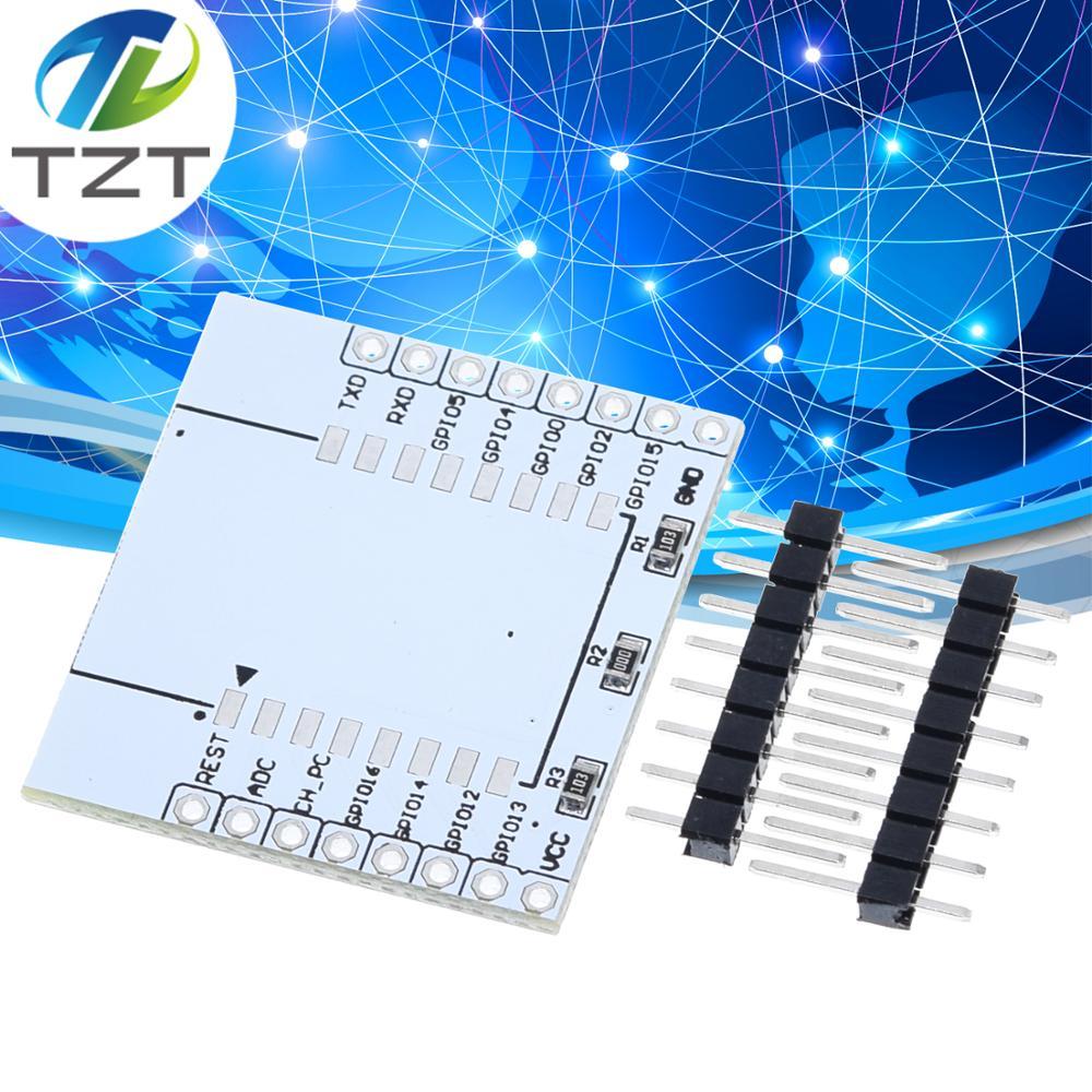 10 шт. ESP8266 серийный WI-FI модуль адаптер пластина распространяется на ESP-07, ESP-12F, ESP-12E Беспроводной доска для arduino