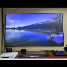 Xy projetor alr ust tela pet cristal 100 120 Polegada para wemax a300 um pro fengmi 4k pro projetor mijia 4k projetores tela