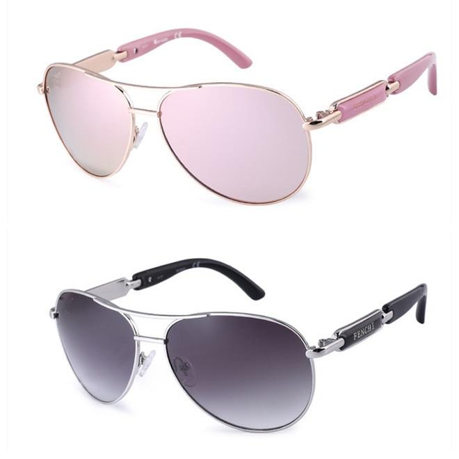 FENCHI Polarized Sunglasses Women Vintage Brand Glasses Driving Pilot Pink Mirror sunglasses Men ladies oculos de sol feminino 13