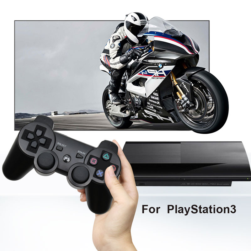 Купить с кэшбэком For PS3 Wireless Bluetooth Controller For Play Station 3 Joystick Wireless Console For PC Dual Vibration Gamepad