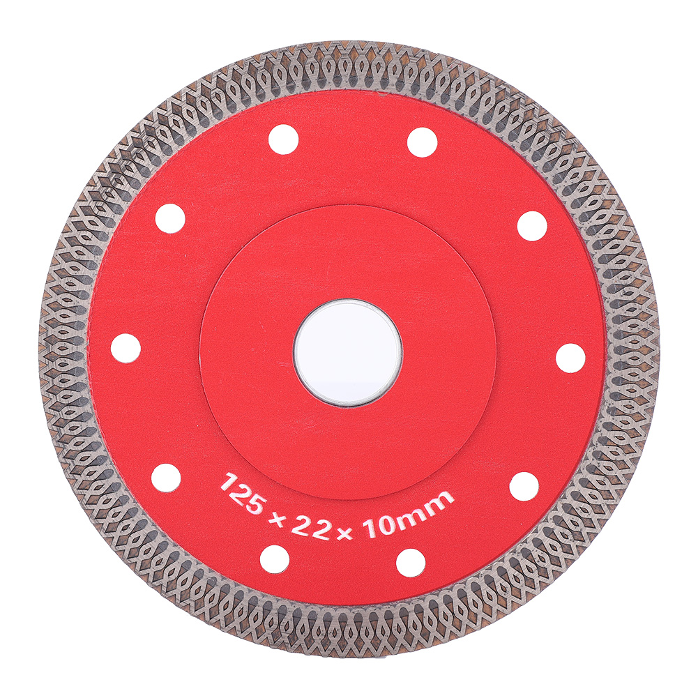 Wave Style Diamond Cutting Disc Saw Blade Wheel For Ceramic Microlite Tile Ceramic Dry Cutting Aggressive Disc Marble Granite