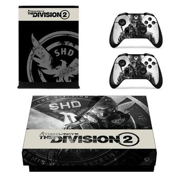 The Division 2 Game Cover Skin Console & Controller Decal Stickers for Xbox One X Skin Stickers Vinyl 2