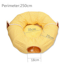 Kennel Cat Tunnel Toy Foldable Cat Channel Cat and Cat Bed Pet Nest Pet Toys Personality Cat Litter Small and Medium SizedKennel 8in1 cat stain and odor exterminator nm jfc s