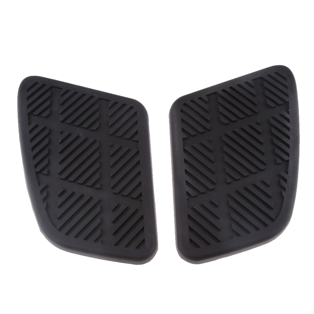 Motorcycle Fuel Tank Pad Self-adhesive Fuel Tank Traction Pads Side Knee Grip Sticker Protector For Cafe Racer Moto Accessories