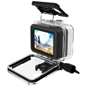 Image 3 - SnowHu for Go Pro Hero 8 45m Underwater Waterproof Case Diving Protective Cover Housing Mount for Gopro 8  Black Accessory GP801