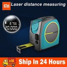 Xiaomi Mileseey DT10 Laser Tape Measure 2-in-1 Digital Rangefinder with LCD Display,Magnetic Hook