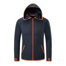Hooded Jacket Men Clothes Ice Silk Waterproof Fishing Tech Hydrophobic Clothing Casual Outdoor Camping Fashion Jackets